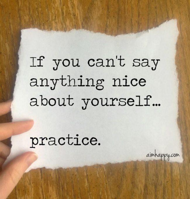 say anything nice